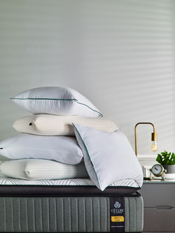 Ottore Colchões abertura travesseiros