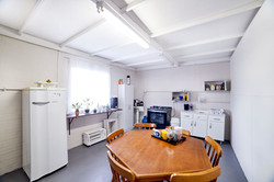 cozinha para preparação de cattering