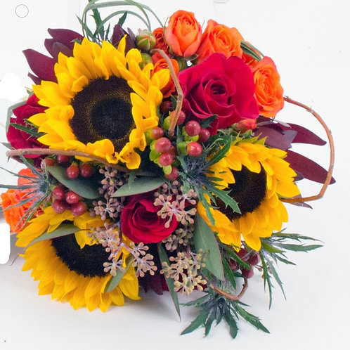 Forever Fall Bridesmaid Bouquet