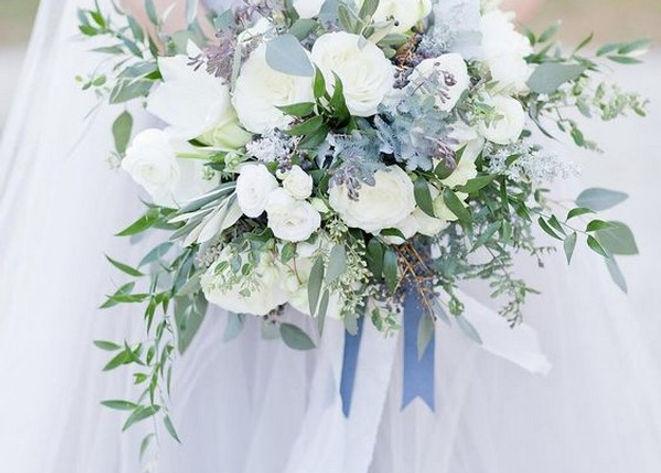 Dusty Blue DIY Wedding