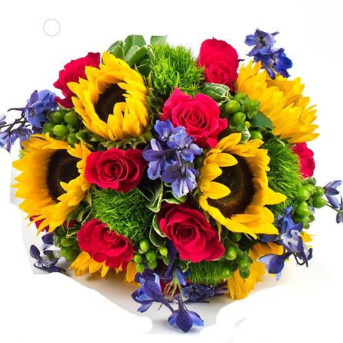 Bold & Bright Brides Bouquet