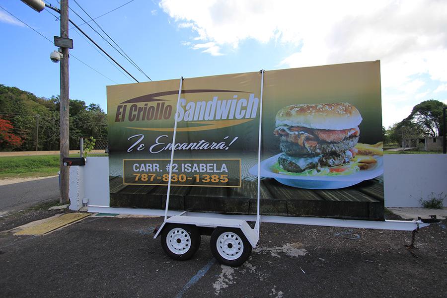 Carreton El Criollo Sandwich