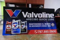 D-board 8'x4' Arecibo Quick lube