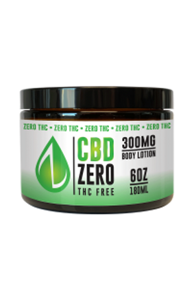 CBD Infused Body Lotion 300mg