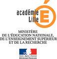 Education nationale Académie de Lille Rectorat logo