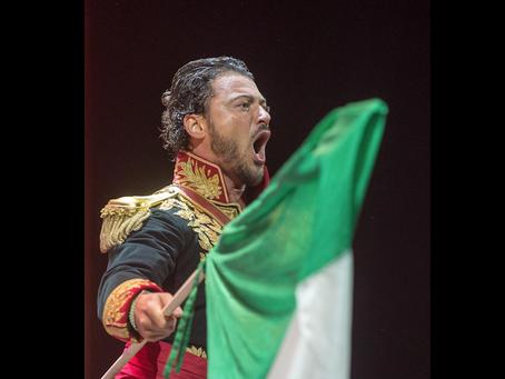 In occasione del Gran Premio di Formula1 il tenore VITTORIO GRIGÒLO cantera' l'Inno d'Italia