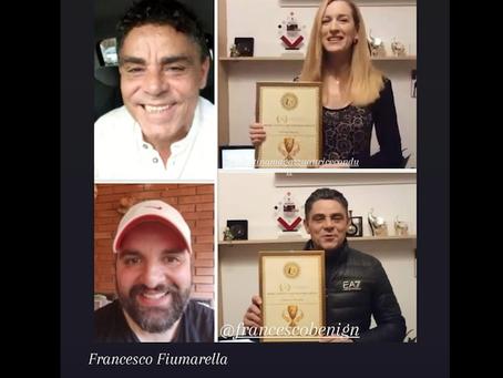 Fiumarella premia e i premiati si sposano: auguri a Francesco Benigno e Valentina Magazzu' | FOTO