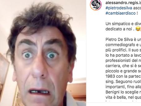 """L'attore Pietro De Silva """"cambia er disco"""" con Alessandro Regis e Mereu: da Roma a New York"""