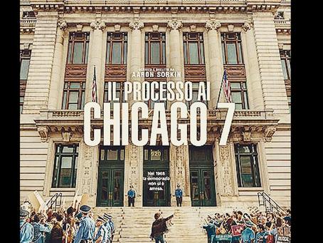 """Weekend al cinema con """"Il processo ai Chicago 7"""" RECENSIONE E VOTO a cura di Jessica Gori"""