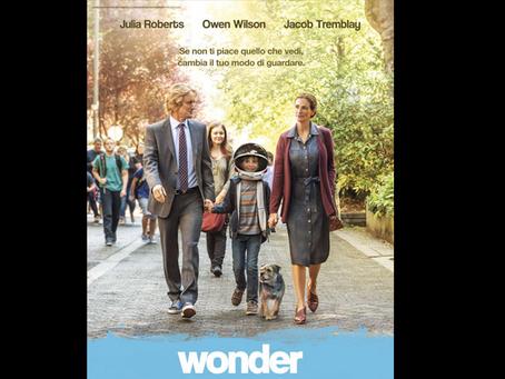 "Weekend al cinema con ""Wonder""   Recensione a cura di Jessica Gori"
