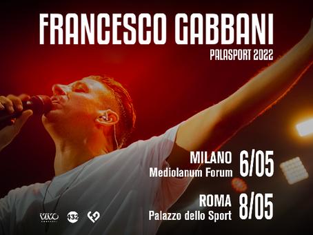 Francesco Gabbani tornerà  dal vivo nel 2022 e lo aspetta anche un ruolo da attore al cinema | NEWS