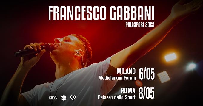 Francesco Gabbani tornerà dal vivo nel 2022 e lo aspetta anche un ruolo da attore al cinema   NEWS