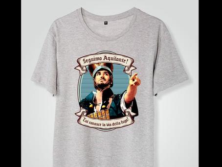 """Red Monkey presenta la T-shirt di Pasqua: """"L'armata Brancaleone"""""""