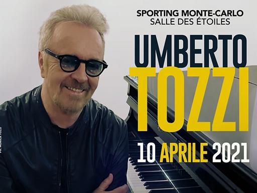 UMBERTO TOZZI per la prima volta live con uno speciale concerto acustico SABATO 10 APRILE