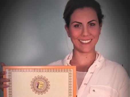 """Sara Pallini vince il """"Premio Vincenzo Crocitti International"""":""""Ringrazio Lavia e Dacia Maraini"""""""