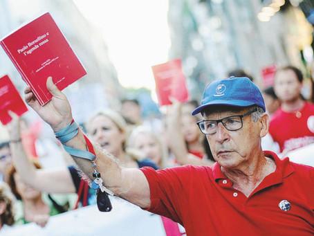 """Salvatore Borsellino, ricorda le parole di Paolo: """"I giovani avranno piu' forza per combattere"""""""