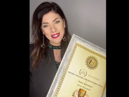 Irene Antonucci vince il Premio Crocitti: lo dedico a chi come me lotta e lavora duramente per sogni