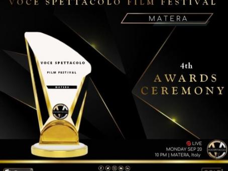"""""""Voce spettacolo film festival"""": via alla rassegna dal 20 settembre, in giuria anche Fiumarella"""