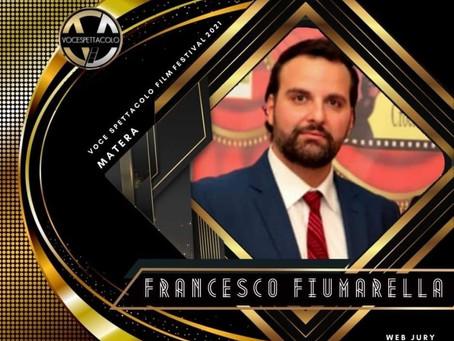 Francesco Fiumarella, il talent scout del nuovo millennio, giurato al Voce Spettacolo Film Festival