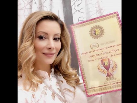 Antonella Salvucci vince il Premio Crocitti: Ringrazio mille volte il Presidente Fiumarella