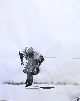 Baseball ink fielder, 2011