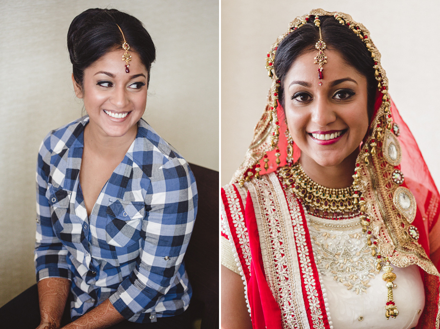 Indian Bridal Hair and Makeup