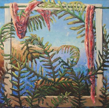 Fern window, 2005