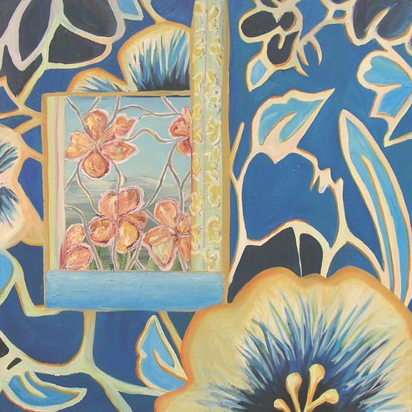 Flower wall, 2004