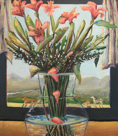 Flower landscape window, 2005