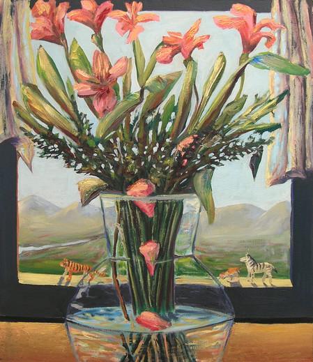 Flower landscape window, 2005