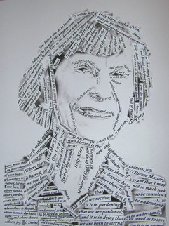 Grandma 80 portrait, 2012