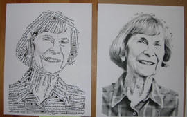 Grandma 80 portrait comparison