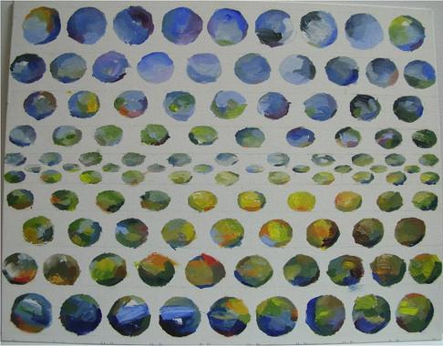 landscape dots, 2015