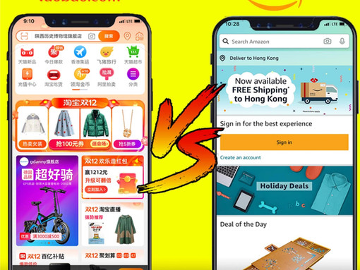 Chinese VS Western websites: 2 different designs, 2 different cultures