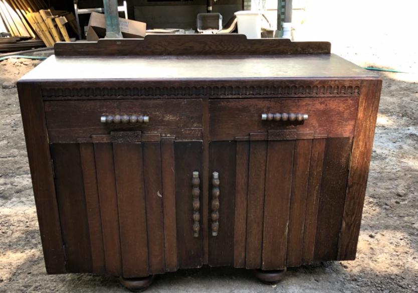 Art Deco style cabinate $125