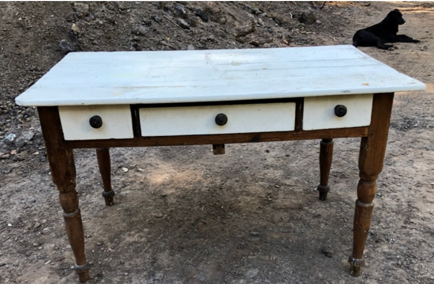 Antique Bakers Table $100 FIRM