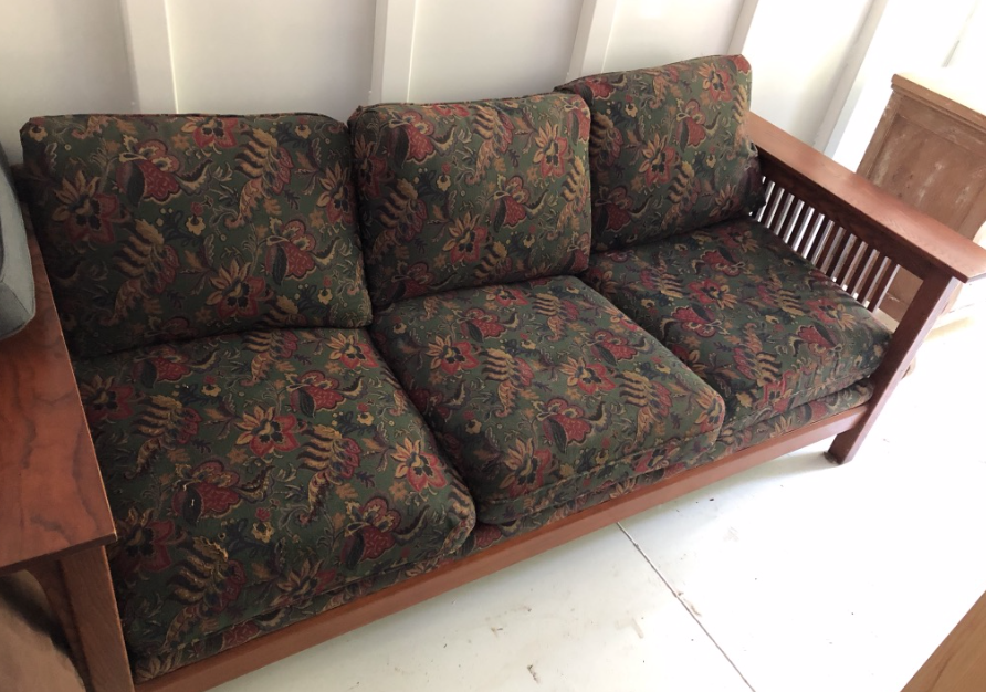 Craftsman Style Couch $100
