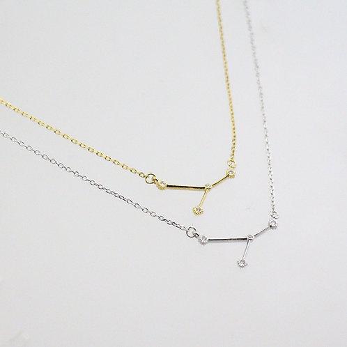 Cancer Zodiac Constellation Necklace