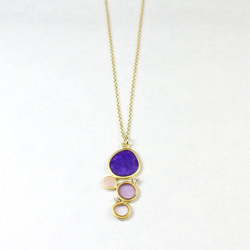 Rainbow's Dream Gold Necklace