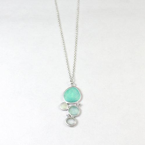 Rainbow's Dream Silver Necklace