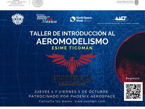 """Primer Taller de """"Introducción al Aeromodelismo"""""""