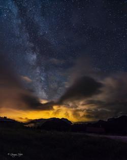 Milky Way over Pian dei Buoi