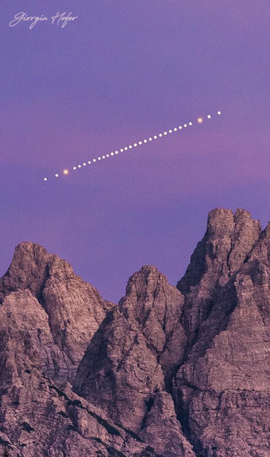 Mars over Cridola-GHR7799b
