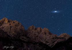 M31 Andromeda and Terza Media