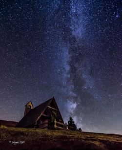 Milky way on Giau pass