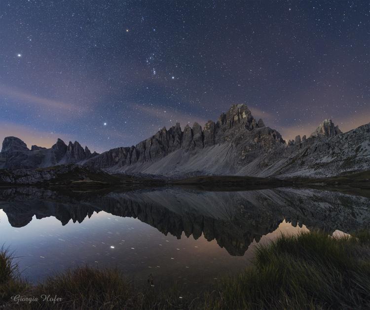 Orione e Laghi dei Piani