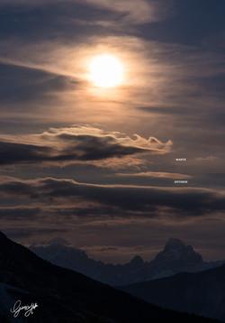 Congiunzione luna, Marte, Antares