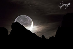 Moondawn over Marmarole