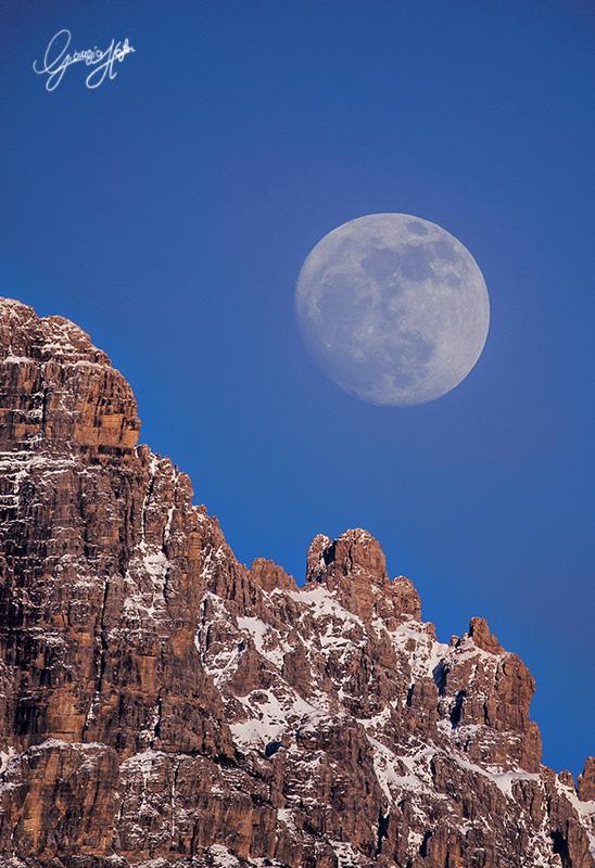 Moon and Cridola