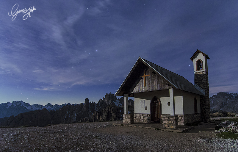 Tre Cime' s church
